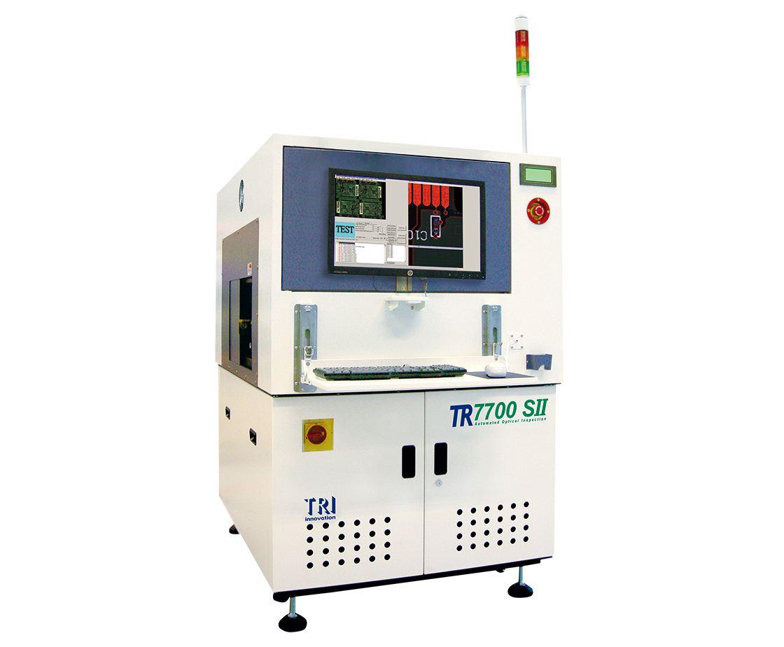 二手德律在线AOI-TR7700SII在线型自动光学检测机