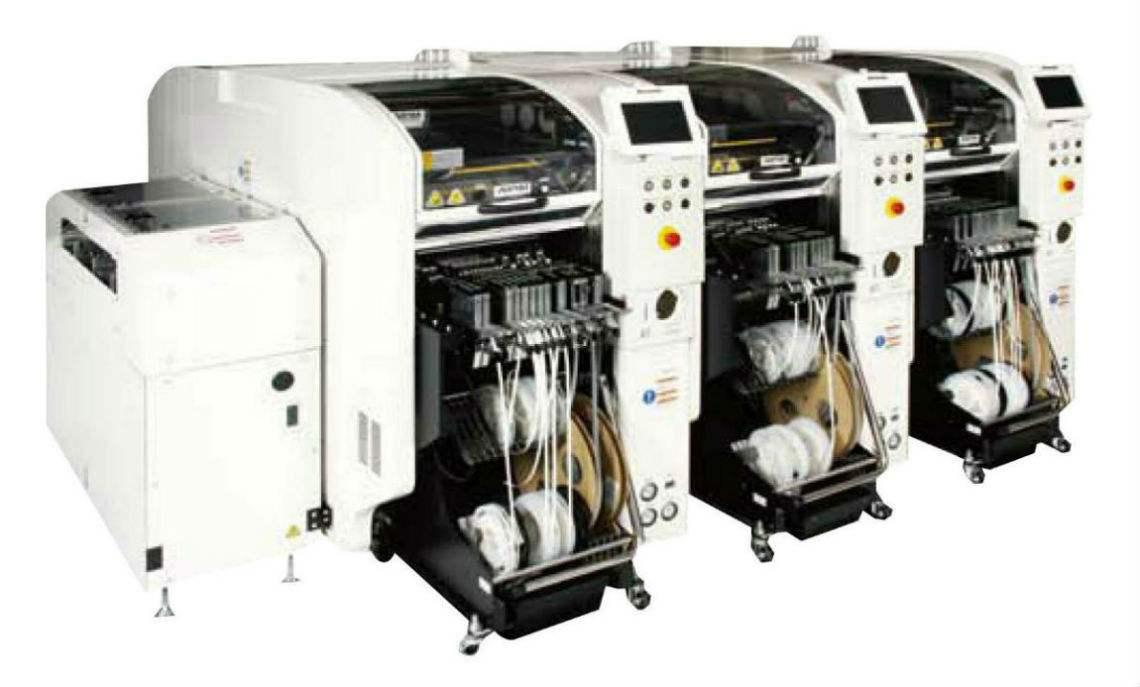 松下tie片机NPM-D,Panasonic NPM-D模组高速tie片机