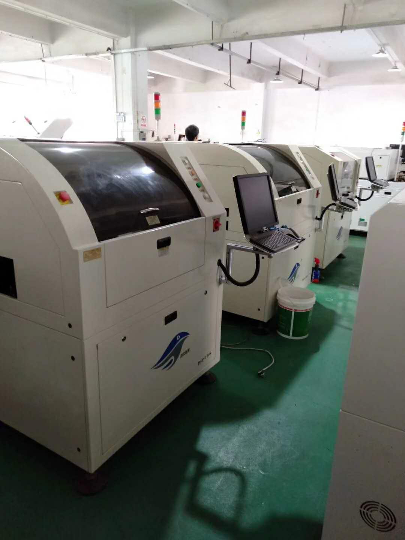 二手德森quan自动视觉锡膏印刷机1008「16nian货」